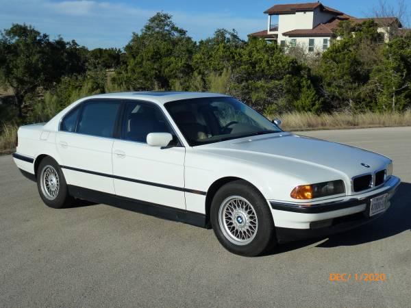 Photo 1998 BMW 740iL - $6,500 (New Braunfels)