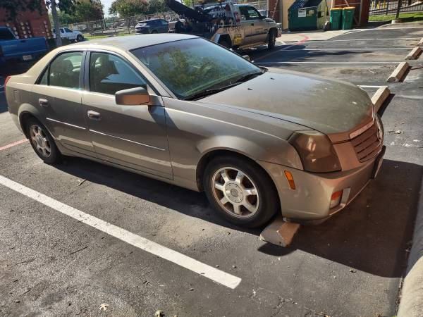 Photo 2003 Gold Cadillac CTS part out parts parting 2004 2005 2006 2007 - $321 (Seguin Tx)