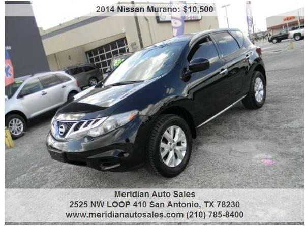 Photo 2014 NISSAN MURANO S AWD 4DR, SUPER NICE, GREAT SUV LOOK - $10,500 (2525 NW LOOP 410 SAN ANTONIO TX www.meridianautosales.com)