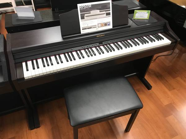 Photo 2020 Roland RP-501R Console Digital Piano with $590 extras - $1,488 (6101 Burnet Rd, Austin, TX)