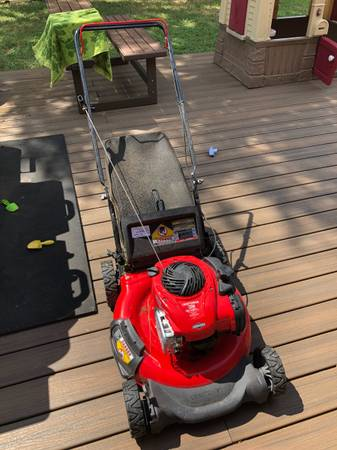 Photo 21quot Craftsman Mower with Bag - $200 (New Braunfels, TX)