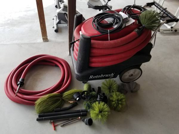 Photo Air Duct Cleaning Machine - $3750