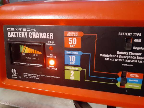 Photo Battery Charger Like New - $29 (Austin)