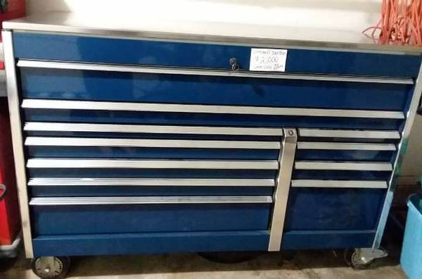 Cornwell 9 Drawer Stainless Steel Top Rolling Tool Box 2000 Lockhart Auto Parts Sale San Marcos Tx Shoppok