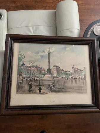Photo Framed print on paper by Guy de Neyrac - $95 (Northwest Austin)