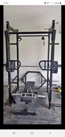 Photo Home Gym Power Rack Cage Titan Vulcan Rogue - $3,500 (Pflugerville)