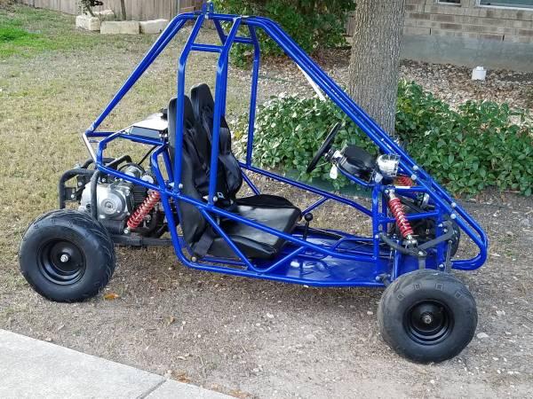 Photo Kids 2 seater mini go-kart - $700 (Quail Valley New Braunfels)