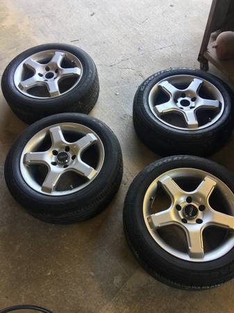 Photo Mercedes Benz Wheels and Tires (matching set of 4) - $200 (San Marcos)