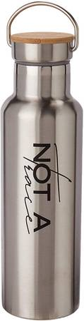 Photo Not A Trace Stainless Steel Double Wall Insulated Water Bottle wBambo - $10 (SEGUIN TX)