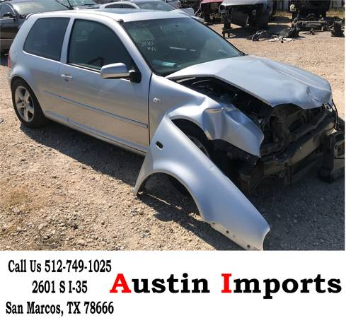 Photo VW Golf GTI 1.8t turbo parts parting out Door card Glass hatch bumper - $25 (San Marcos)