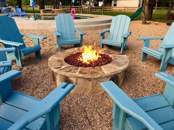 Photo Wimberley Adirondack Chairs outdoor furniture - $159 (San Marcos)