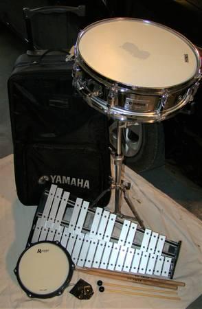 Photo Yamaha snare drum - $120 (San Marcos)