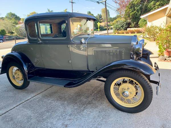 Photo 1930 Ford model a coupe - $18000 (Santa barbara)