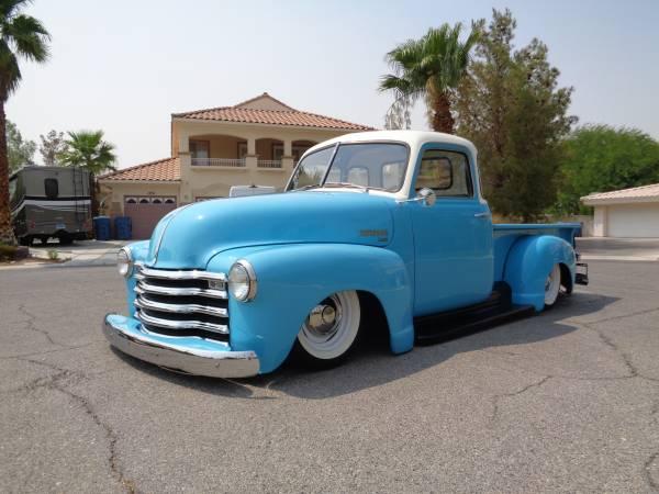 Photo 1949 Chevrolet Pick-Up Truck 3100  RestoMod - $38,000 (Las Vegas, NV)