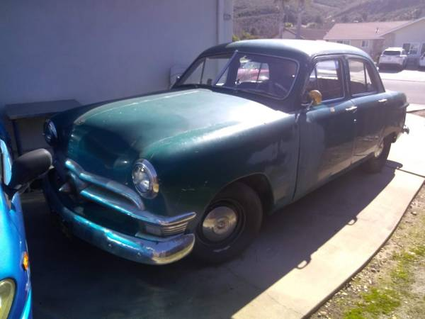 Photo 1950 Ford looking to trade - $1 (Lompoc)