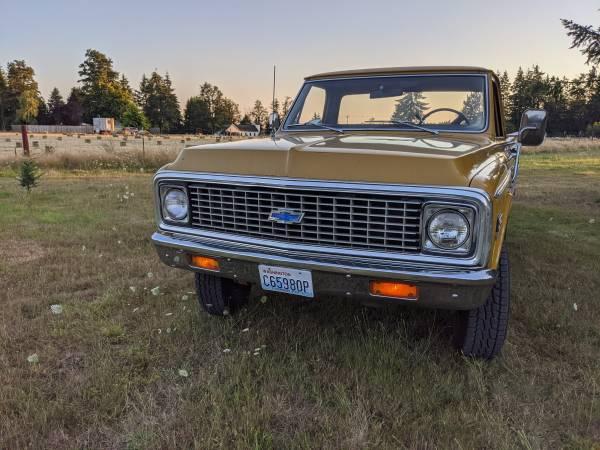 Photo 1972 chevy k20 4x4 k10 chevrolet - $15,500 (GOLETA)