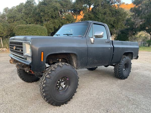 Photo 1975 Chevy 4x4 k10 - $7500 (Off the 154)