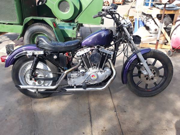 Photo 1979 Harley Davidson Sportster Iron head - $3,525 (Santa Barbara)