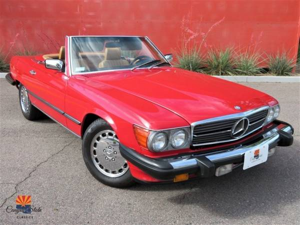 Photo 1989 Mercedes-benz 560 Series 2DR COUPE 560SL ROADSTER - $26900