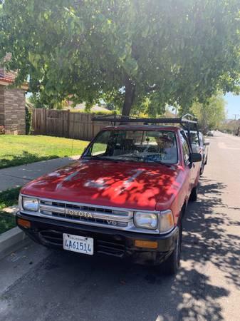 Photo 1989 Toyota T100 - $4,200 (Santa Barbara CA)