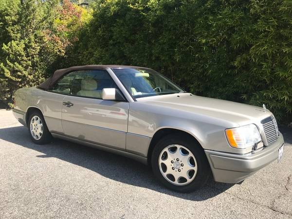 Photo 1995 Mercedes-Benz E320 Cabriolet from the final year of production - $17,200 (Santa Barbara)