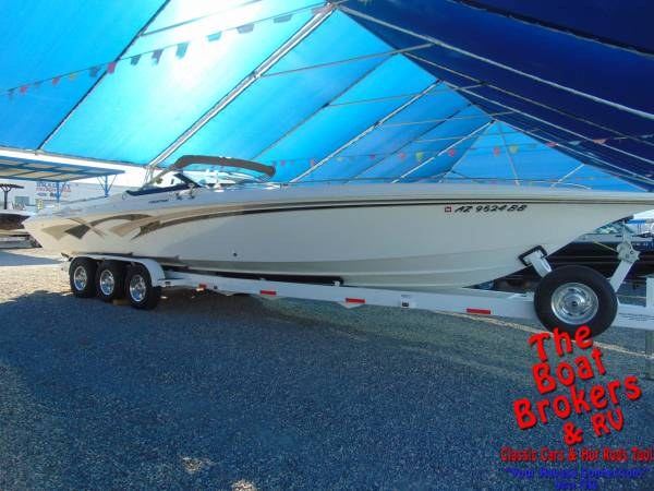 Photo 1999 FOUNTAIN LIGHTNING 38 CLOSED BOW BOAT - $79,900 (Lake Havasu City)