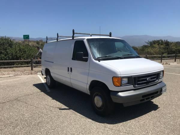 Photo 2006 ford E250 cargo van - $4200 (Goleta)
