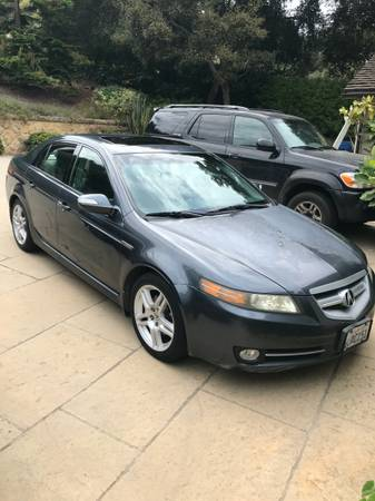 Photo 2007 Blue Acura TL - $3,900 (Santa Barbara)