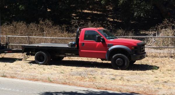 Photo 2008 Ford F-450 F450 XL 4x4 Diesel 6 Speed Manual - $15000 (Goleta)