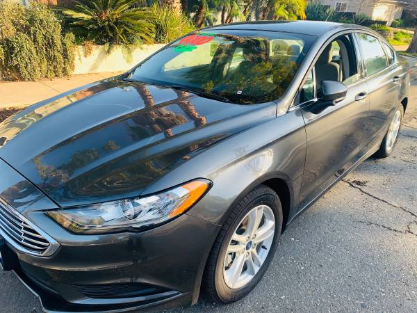 Photo 2018 Ford Fusion-SE,BRAND NEW 2018,ONLY 396 miles - $20785