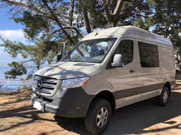 Photo 2020 Sprinter 144quot 4x4 Cargo Van - $118,000 (Santa Clarita)