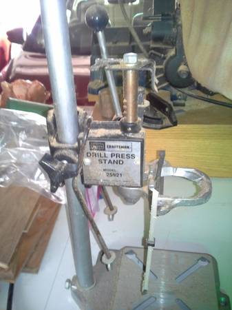 Photo 60 drill press stand Craftsman - $15 (santa barbara)