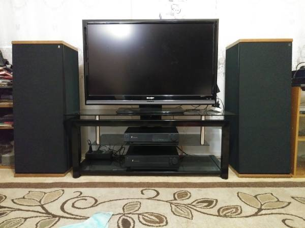 Photo Acoustic Research TSW-810 Speakers. EXCELLENT CONDITION.EXTREMELY RARE - $750 (Santa Maria)