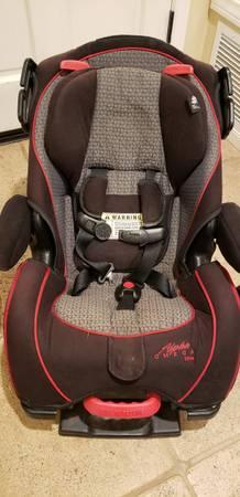 Photo Alpha Omega Elite Car Seat (Turnpike)