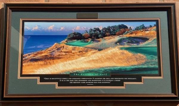 Photo Arnold Palmers The essence of golf - $150 (Santa Barbara Ca)