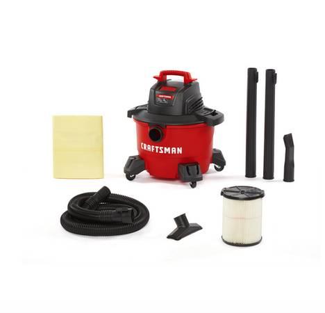 Photo CRAFTSMAN 12-Gallon Portable WetDry Shop Vacuum - $65 (santa barbara)