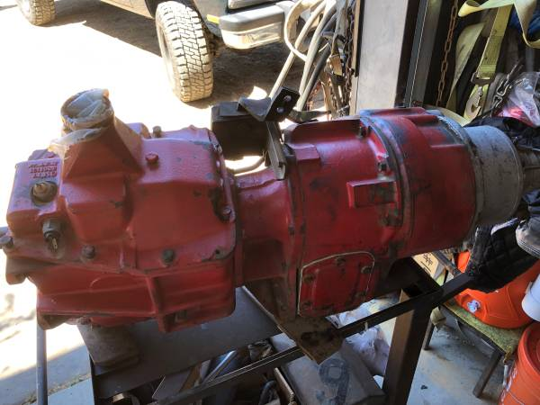 Photo Chevy K20 4x4 trans and transfer case - $400 (Lompoc)