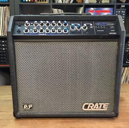 Photo Crate Two Tone Model GFX50-TT 2-Channel 50-Watt 1x12quot Guitar Amp - $225 (Upper state st)