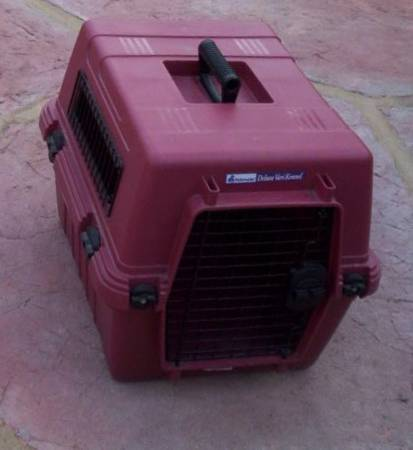 Photo Dog Crate Petmate Deluxe Vari Kennel - $25 (Goleta)