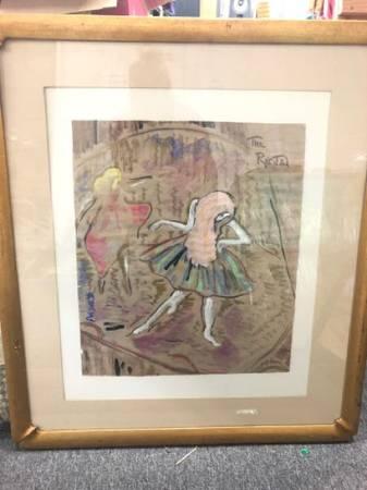 Photo Framed original art by Anjanette Vail Van Horn - $260