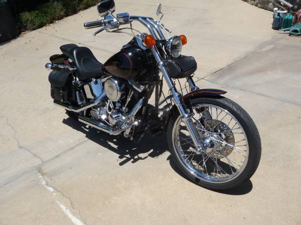 Photo Harley-Davidson 1991 FXSTC - $10,500 (Solvang,CA.)