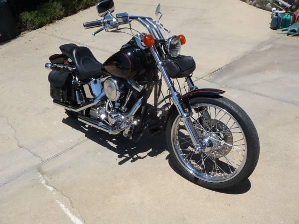Photo Harley-Davidson 1991 FXSTC - $9,950 (Solvang,CA.)