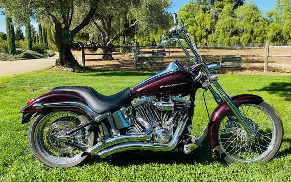 Photo Harley 2006 FXSTDL Softail Deuce - $10,000 (Santa Barbara)