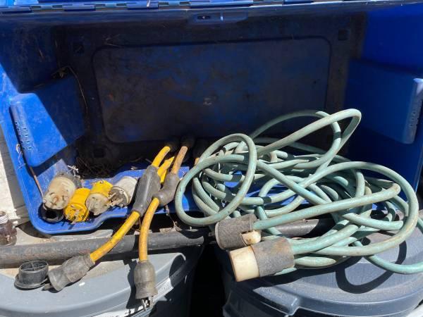 Photo Heavy Duty Power Cord and adapters and splitters - $90 (santa Barbara)