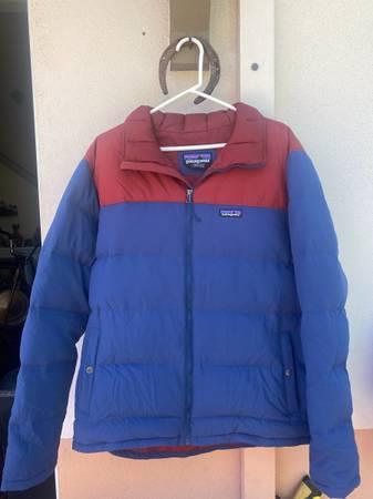 Photo Mens Patagonia Bivy Down Jacket (L) - $140 (Santa Barbara)