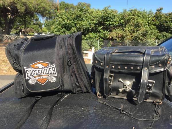 Photo Motorcycle Luggage Bags - $75 (Carpinteria)