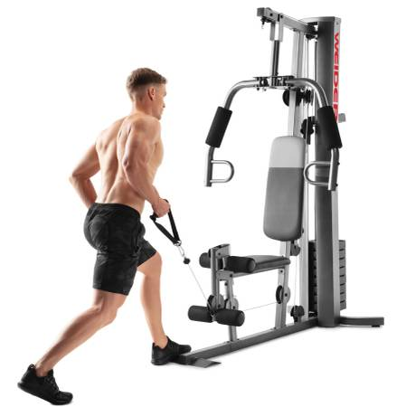 Photo NEW Weider XRS 50 Olympic Home Gym Workout Weights Fitness Training - $399 (Santa Barbara)