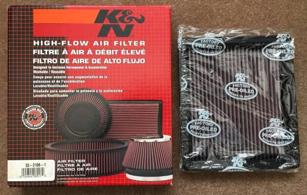 Photo New KN Air Filter fits 1997-2011 Ford, Mazda, Mercury trucks - $35 (Buellton)