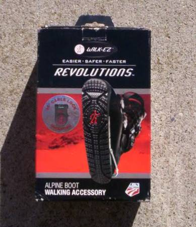 Photo New Never Used Walk EZ Revolutions Ski Boot Accessory - $20 (goleta)