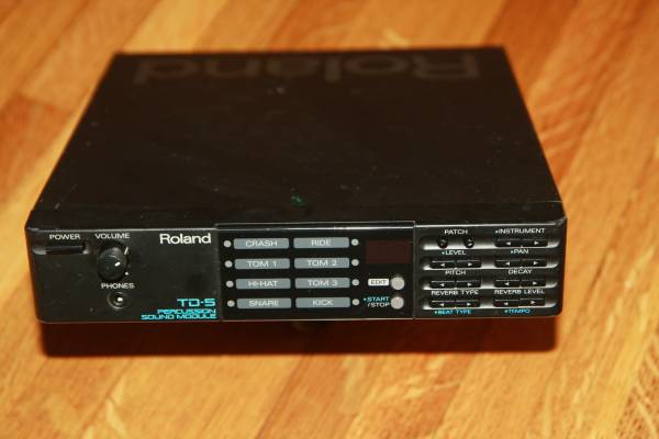Photo ROLAND TD-5 Percussion Sound Module Electric Drums - $65 (Alhambra or Burbank)
